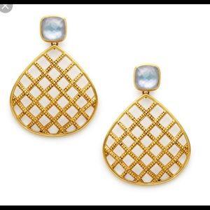 NWT Julie Vos Loire Statement Earrings